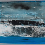 Esther de Patoul, Empreintes tissu sur papier, 2015, 42 x 45 cm (chaque)